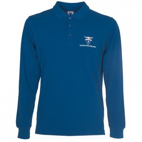 Polo Manica lunga (blu navy)