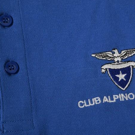 Dettaglio Polo Manica lunga (blu navy)