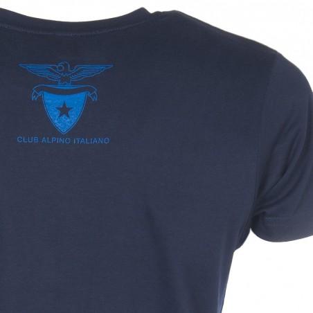 Retro T-Shirt Aquila 2016 Uomo (blu navy)