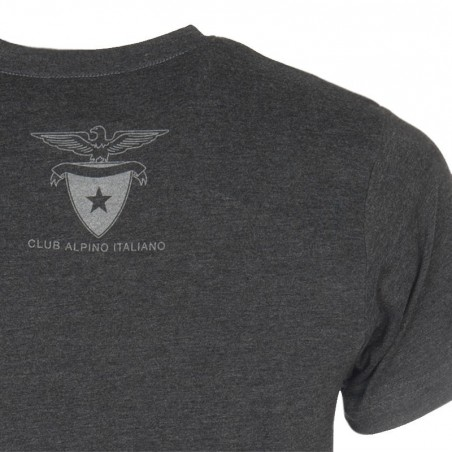 Retro T-Shirt Aquila 2016 Uomo (grigio antracite)