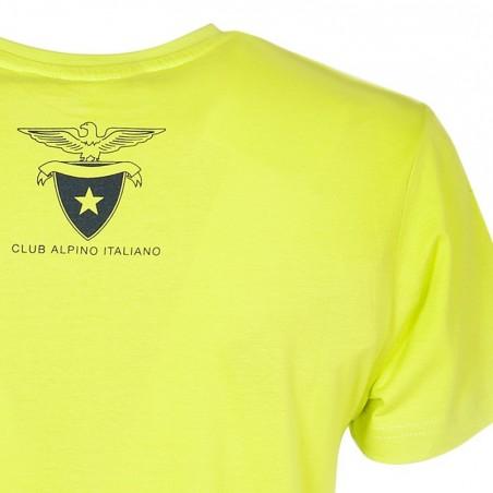 Retro T-Shirt Aquila 2016 Uomo (verde acido)