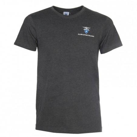 T- Shirt Classica Uomo (grigio antracite)