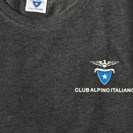 Dettaglio T- Shirt Classica Uomo (grigio antracite)
