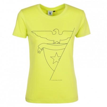 T-Shirt Aquila 2016 Donna (verde acido)
