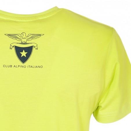 T-Shirt Aquila 2016 Donna Retro (verde acido)