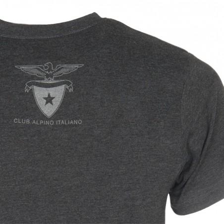 T-Shirt Aquila 2016 Donna Retro (grigio antracite)