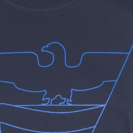 Dettaglio T-Shirt Aquila 2016 Donna (blu navy)