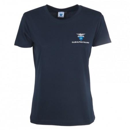 T- Shirt Classica Donna (blu navy)