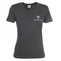 T- Shirt Classica Donna (grigio antracite)