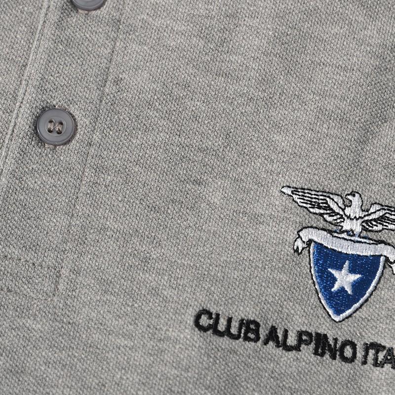 Dettagli Polo Manica corta (grigio)