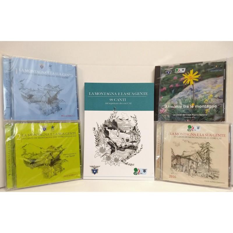 """Serie Coralità - 5 CD + Libro """"99 canti"""""""